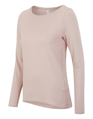 Womens Heatgear Long Sleeve T-shirt