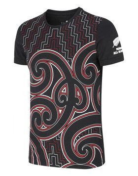Mens All Blacks Maori Tee