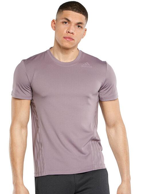 Mens AeroReady 3 Stripe T-Shirt