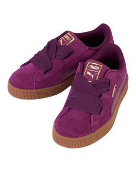 Younger Girls Suede Heart