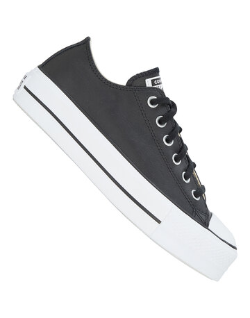 Womens Chuck Taylor All Star Lift Leather Ox