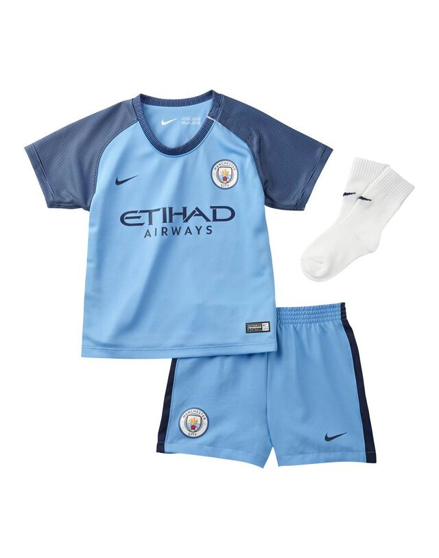 Infants Man City Home Kit