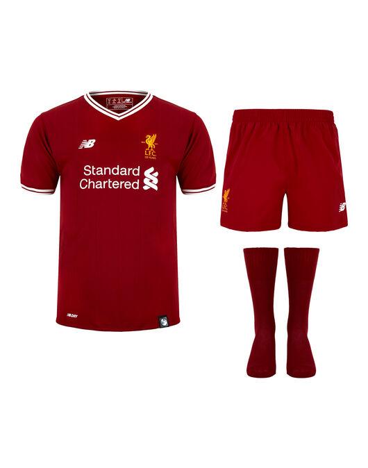 low priced f9f8d d9b19 New Balance Kids Liverpool 17/18 Home Kit | Life Style Sports