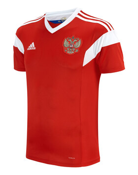 Adult Russia WC18 Home Jersey