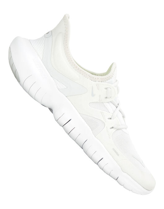 d4b7dd1fc8e04 Women s White Nike Free Run 5.0