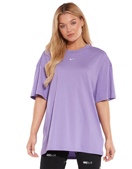 4716f73026242 Women's Purple Nike T-Shirt | Life Style Sports