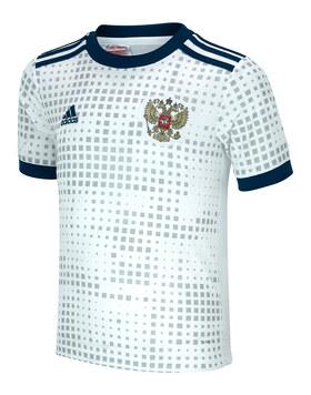 Kids Russia WC18 Away Jersey