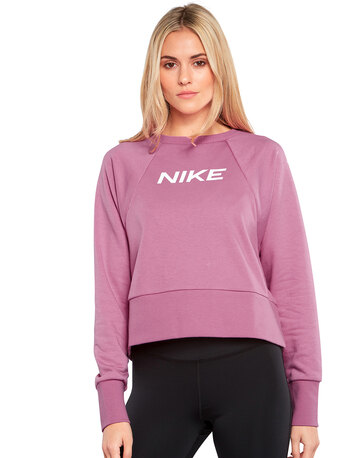 Womens Dry Fit Crewneck Sweatshirt