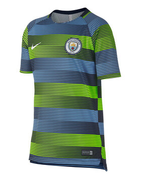Kids Man City Pre Match Jersey