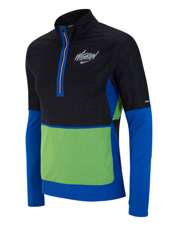 Mens Wild Run Element Half Zip