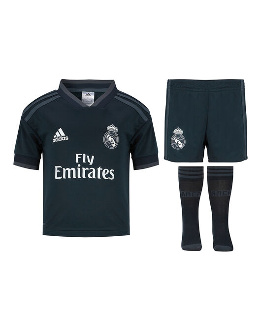 super popular 1e079 22338 adidas Kids Real Madrid 18/19 Away Kit