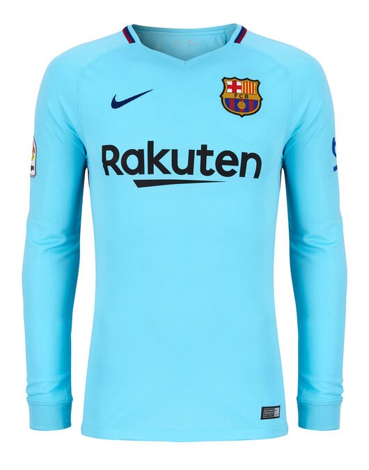 new product 5a0ba 0c7ab Adult Barcelona 17/18 Long Sleeve Away Jersey | Life Style ...