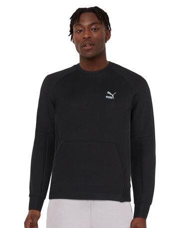 Mens Classic Tech Crew Neck Sweatshirt