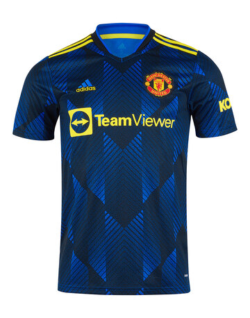 Adult Manchester United 21/22 Third Jersey