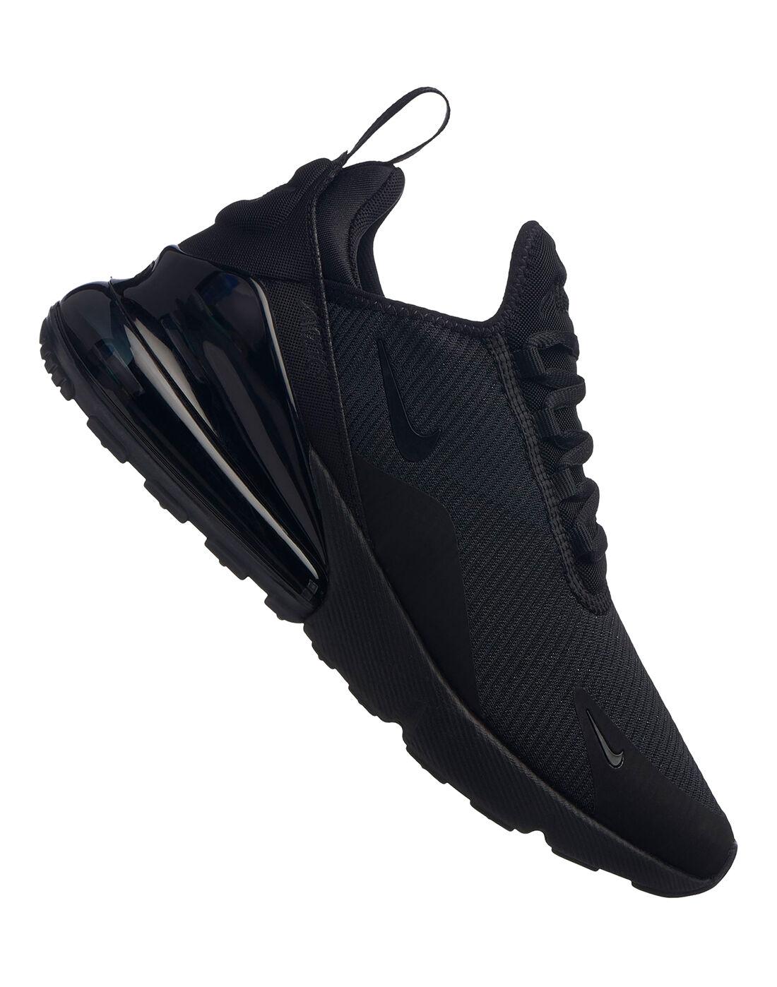 Women's Triple Black Nike Air Max 270