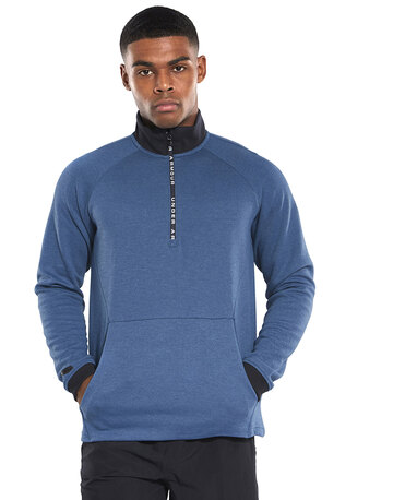 Mens Unstoppable Double Knit Half Zip