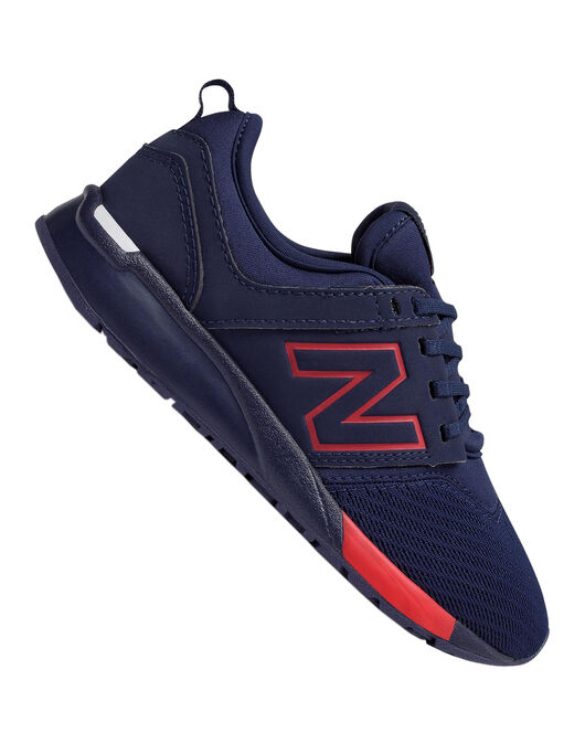 356fe32cb63c6 New Balance Older Kids 247 Trainer | Navy | Life Style Sports