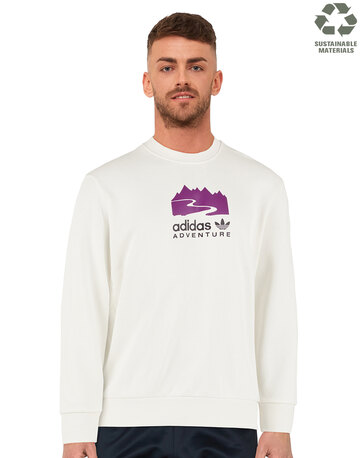 Mens Adventure Crew Neck Sweatshirt