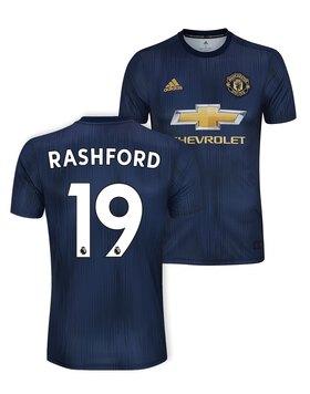 Kids Man Utd Rashford 3rd Jersey