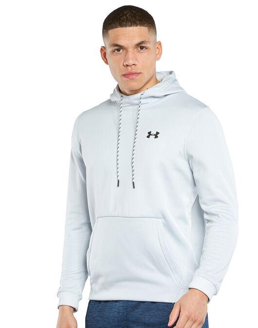 Mens Armour Fleece Pullover Hoodie
