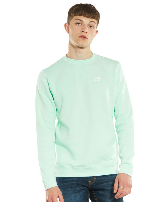 f13fa7ce5 Nike Mens Club Crew Sweatshirt | Life Style Sports