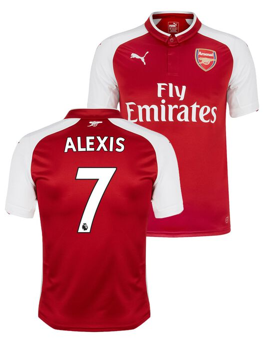 timeless design e6215 c38f7 Puma Kids Arsenal Home 17/18 Alexis Jersey | Life Style Sports