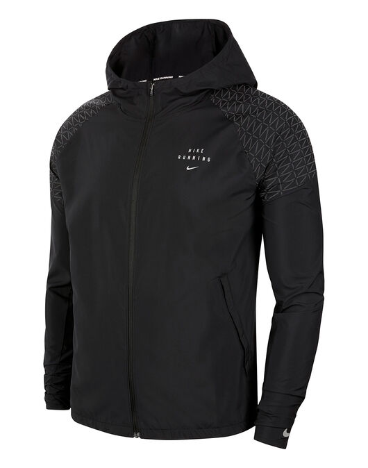 Mens Run Division Essential Flash Jacket