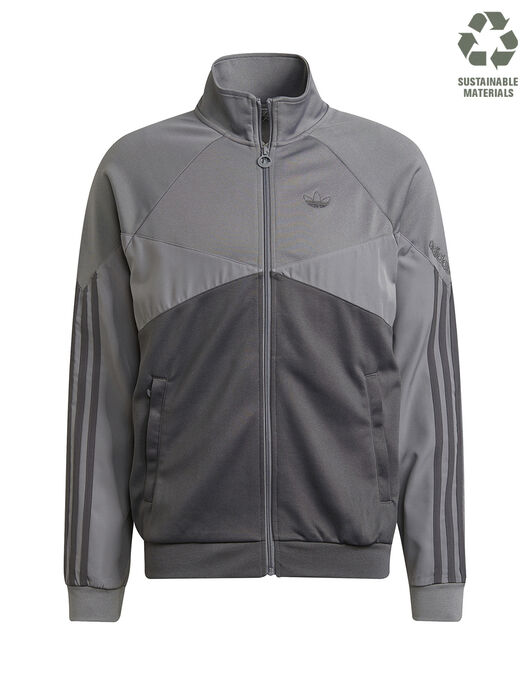Mens Blocked Poly Track Top