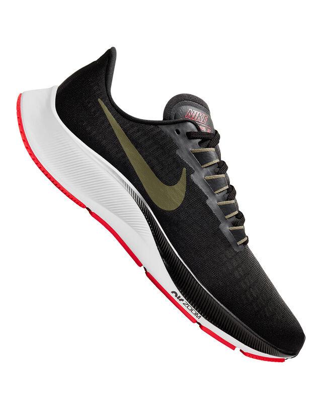 Nike Mens Zoom Pegasus 37 - Black - 8