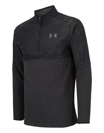 Mens Cold Gear Half Zip Top