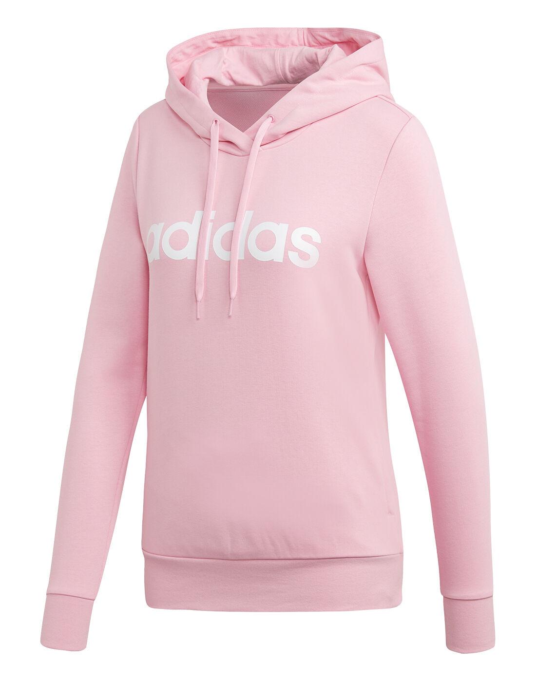 adidas hoodie pink womens