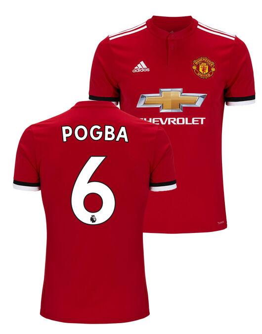 Kids Man Utd Pogba Home Jersey