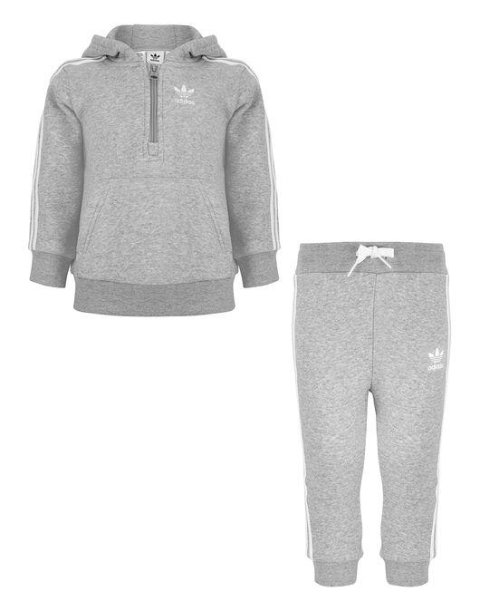 bd708bc43dbc Infant Boy s Grey adidas Originals Jogger Set   Life Style Sports