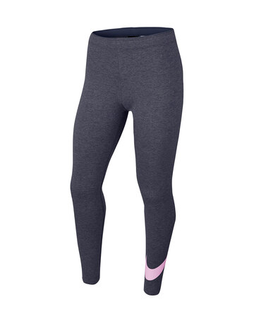 Older Girls Swoosh Leggings
