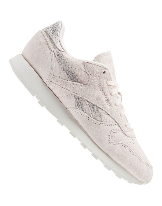 Womens Classic Leather Shimmer