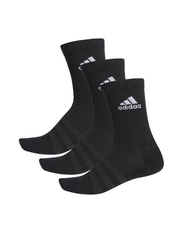 Adult 3 Pack Cushion Crew Socks