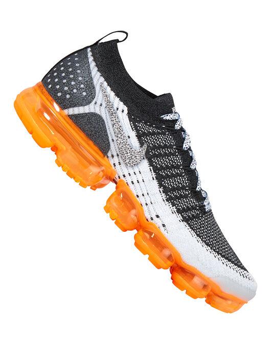 size 40 ad08e ebcd0 Men's Black & Orange Nike Vapormax Flyknit 2 Safari | Life ...