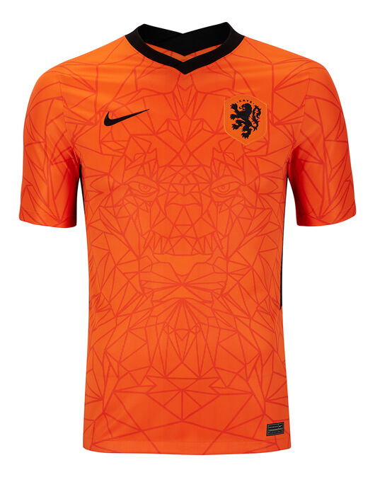 Adult Holland Euro 2020 Home Jersey