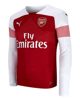 Adult Arsenal Home 18/19 LS Jersey