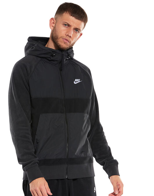 Mens Winter Full Zip Hoodie