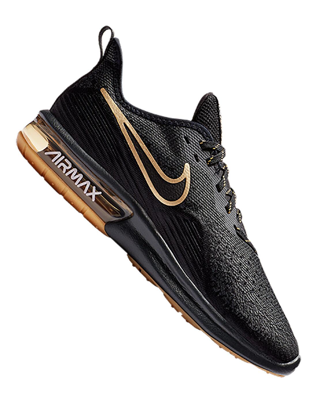 Nike Mens Air Max Sequent 4 - Black