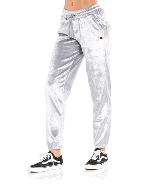 Womens Cuffed Velvet Pants