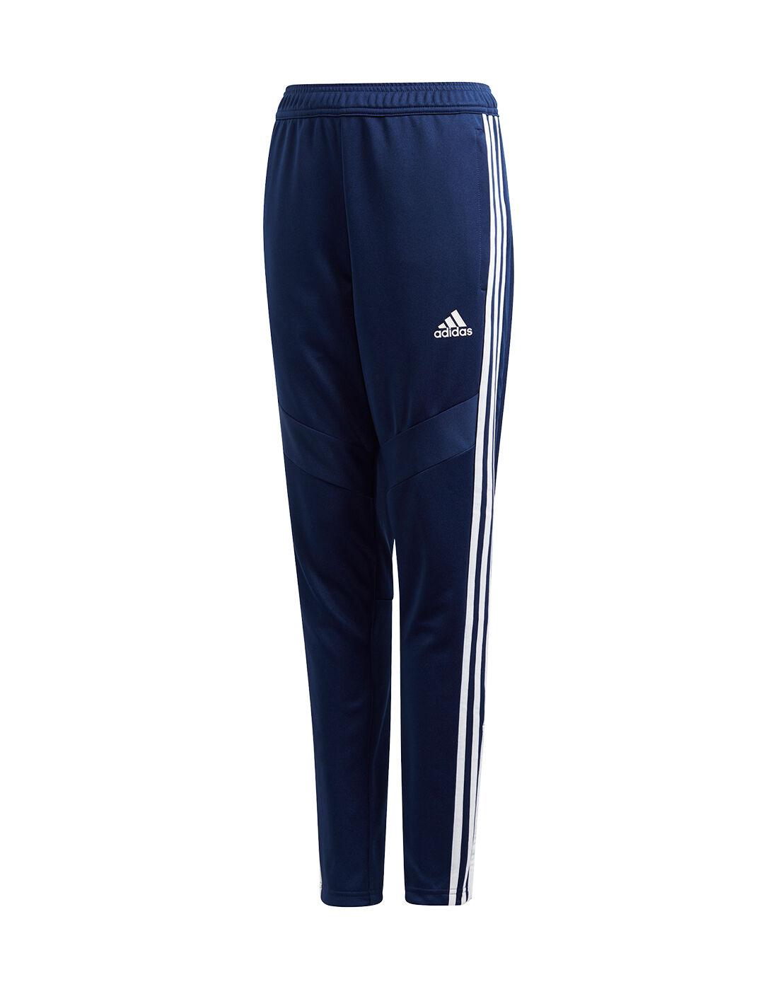 Boy's Navy Blue adidas Tiro Track Pants