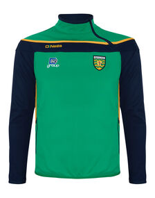 Mens Donegal Slaney Side Zip Top