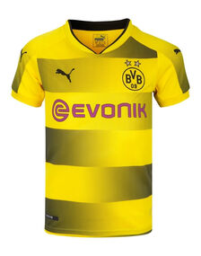 Kids Dortmund 2017/18 Home Jersey