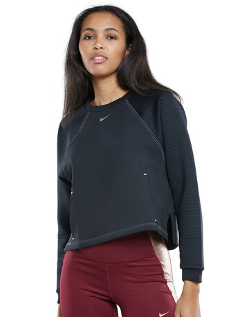 Womens Lux Dry Fleece Crew Sweatshirt