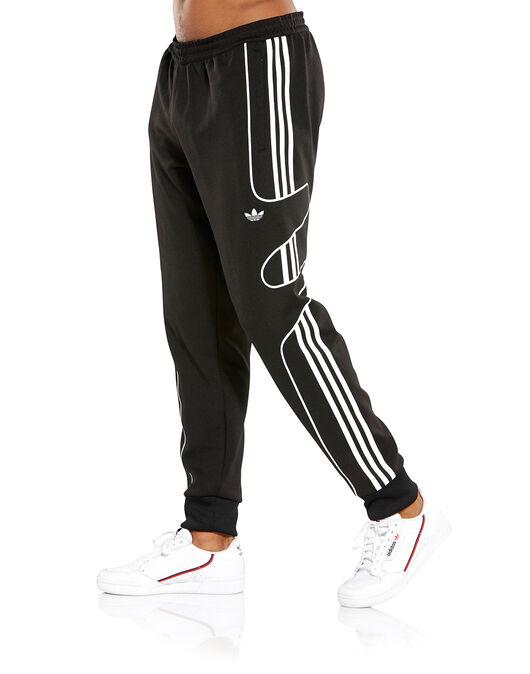 5b0f31664094 Men s Black adidas Originals Flamestrike Track Pants