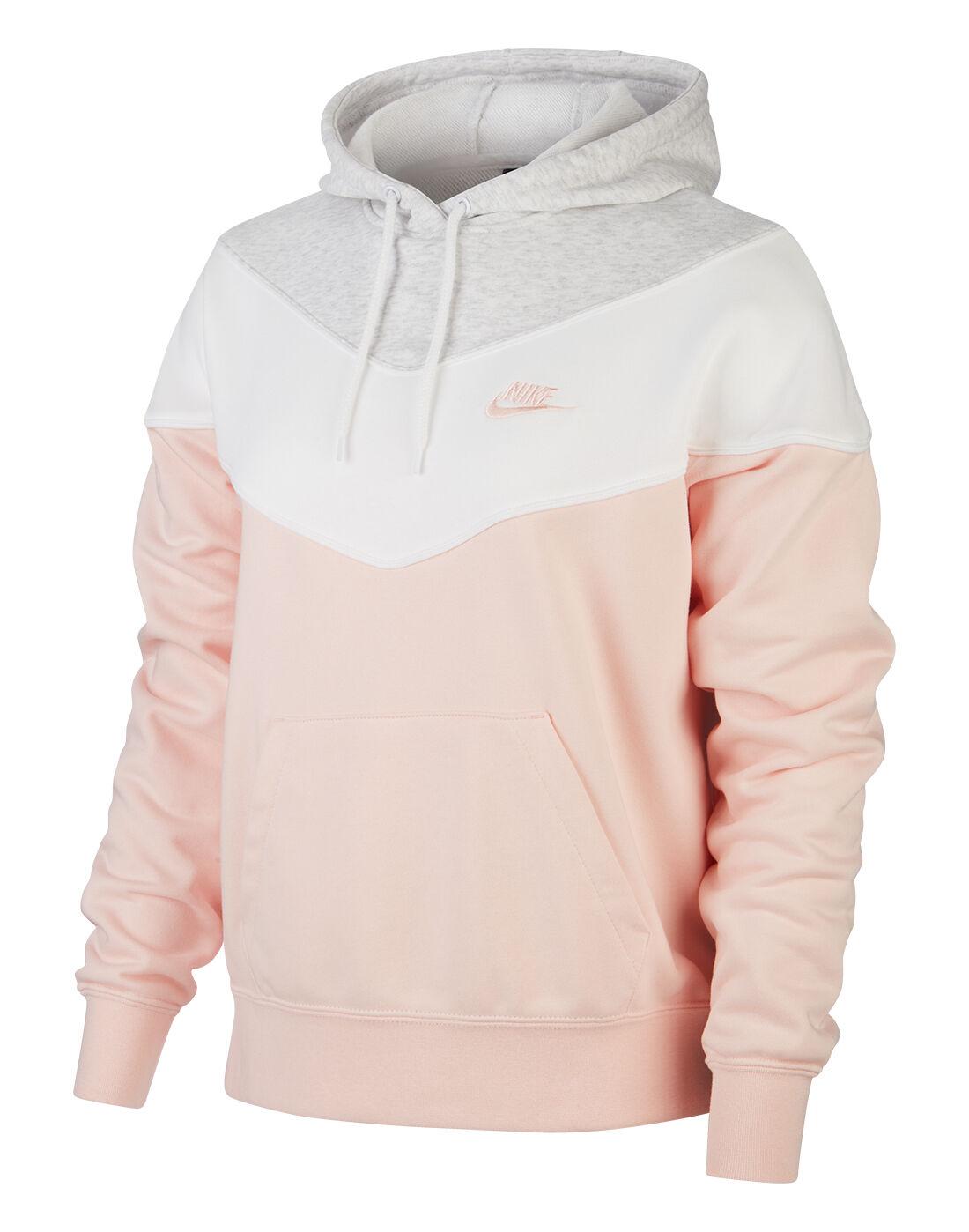 nike hoodie pink