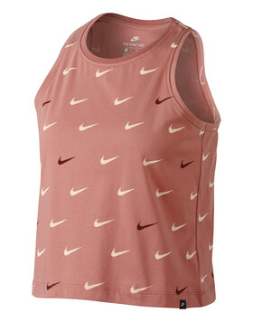 Womens Swoosh Crop Tank