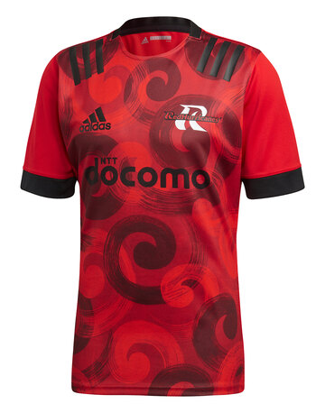 Adult Red Hurricanes Home Jersey 19/20